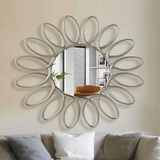 Espejo decorativo plata