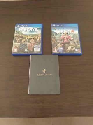 Farcry 4 y 5 PS4