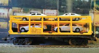 vagón porta coche H0