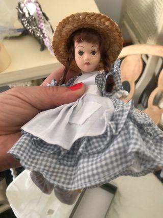 Lote muñecas porcelana