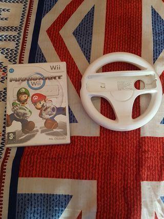 Mario Kart Wii + Volante