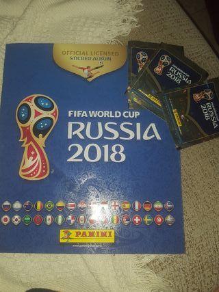 álbum de cromos del mundial de fútbol de 2018
