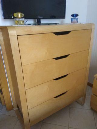 Cómoda Ikea 4 cajones