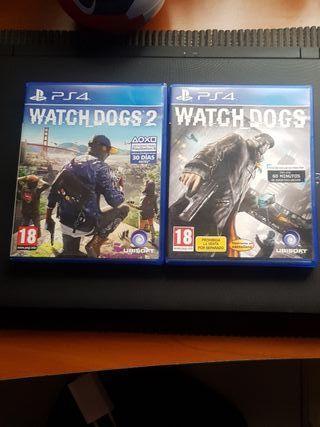 Watchdogs 1 y 2-Ps4