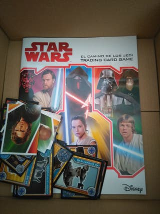 Álbum cromos de Star Wars