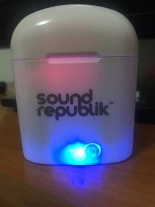 Vendo auriculares Sound republik
