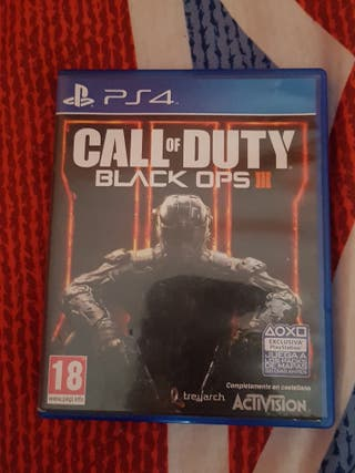 Call of Duty Black Ops III -Ps4