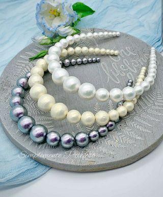 Nuevo diseño 2019! Tiara de perla de alta calidad!