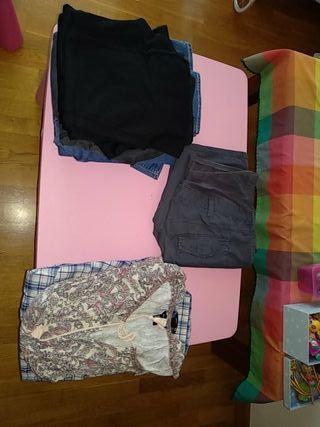 Lote de ropa de premamá