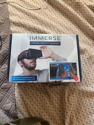Gafas realidad virtual para el móvil