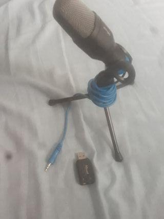 Trust Mico - Micrófono USB con trípode