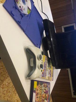 xbox360 con juegos i mando
