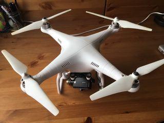 DRON DJI PHANTOM II + FULL ACCESORIOS