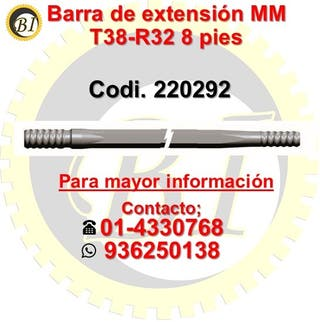 SE VENDE BARRA DE EXTENSION T38 X R32 220292