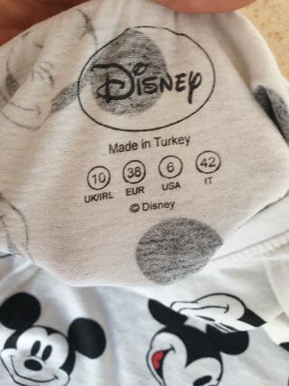 camiseta manga corta disney