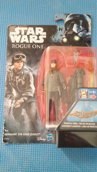 1 FIGURA STAR WARS JYN ERSO - ROGUE ONE
