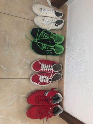 Zapatos de hombre ,de niño y de mujer