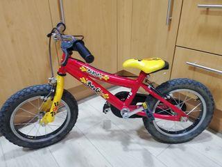 Bicicleta niño '14
