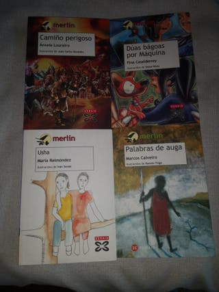 Libros colección Merlin