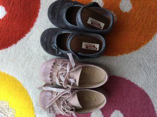 Preciosos zapatos niña talla 25