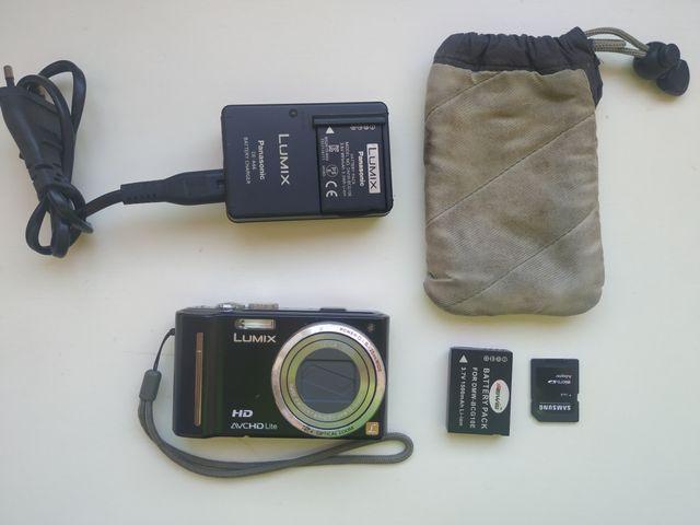 Cámara digital panasonic lumix dmc TZ10 con GPS