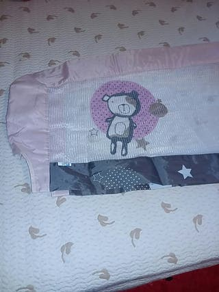 Barrera de cama bebe