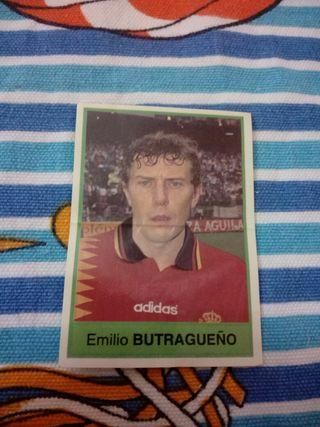 Cromo Butragueño Bollycao