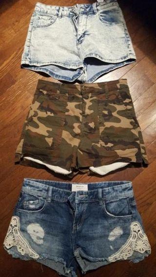 Pack Shorts Mom Fit pantalón corto
