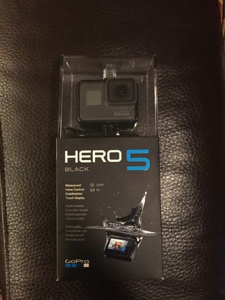 Gopro Hero black 5 + Accesorios