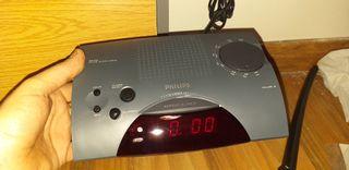 despertador Philips nuevo
