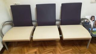 Tresillo de sala de espera