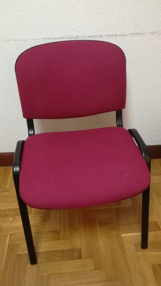 4 sillas tapizadas