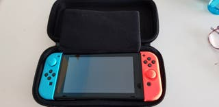 Nintendo switch con funda