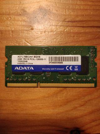 RAM 2GB 1RX16 PC3L 12800S ADATA