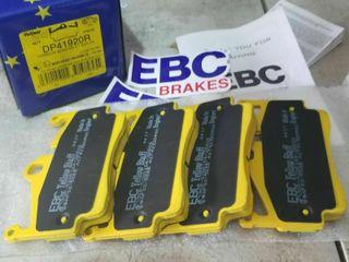 EBC frenos dp41920r Yellows TUFF Porsche