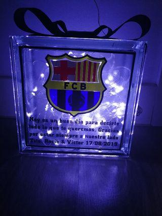 lámpara pavés