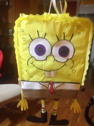 Piñata de bob esponja