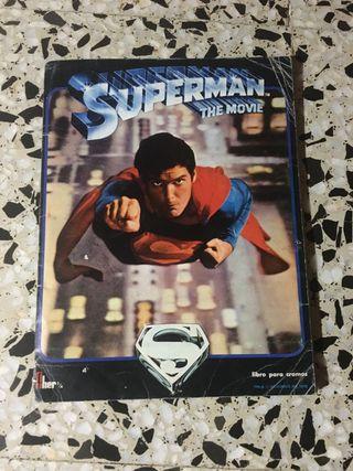 Álbum de cromos superman the movie