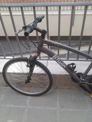 bicicleta muy nueva