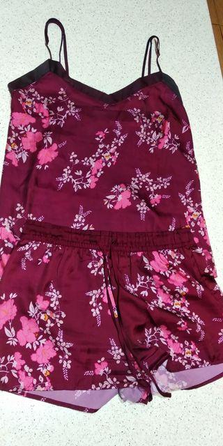 Pijama de raso Women`Secret