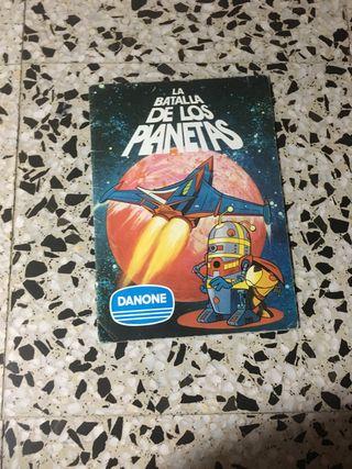 Álbum cromos la batalla de los planetas
