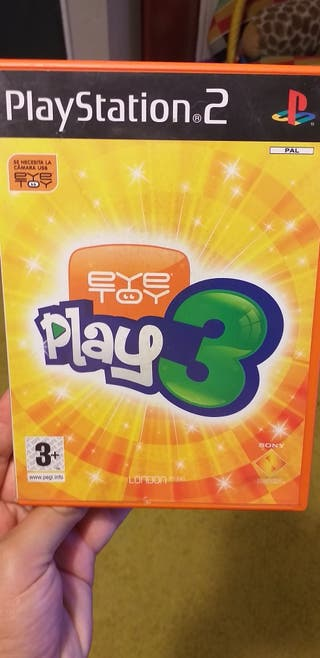 eye toy play3 paraplaystation 2