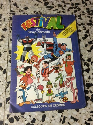 Álbum cromos festival del dibujo animado