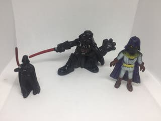 Figuras pvc antiguas Star Wars darth vader