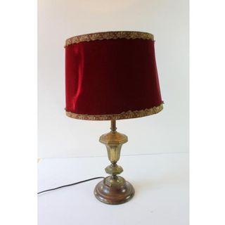 Muy Antigua lámpara de mesa
