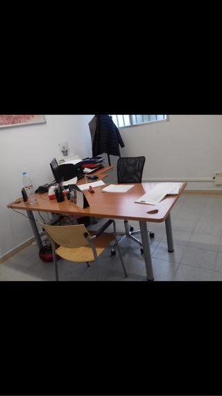 100 Mesas de oficina en L