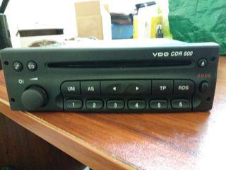 Radio CD original Opel VDO CDR 500