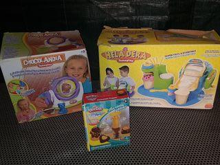 lote juguetes comida