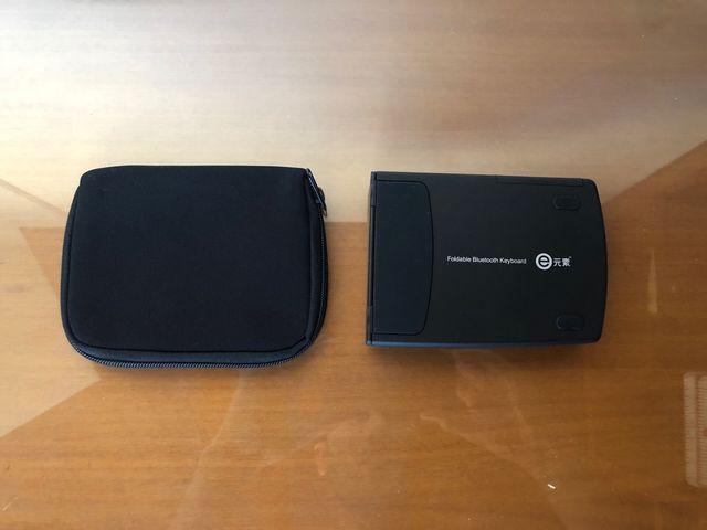 Teclado plegable bluetooth para móvil o tablet