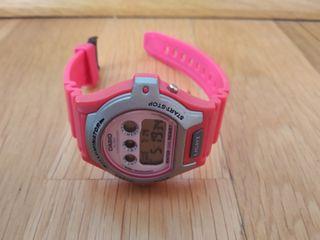 dc6fa6d35d81 Reloj Casio rosa de segunda mano en WALLAPOP